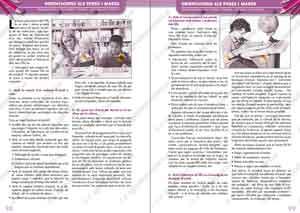 Interior de les agendes escolars en català